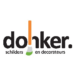 Donker schilder en decorateurs